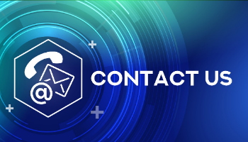 Contact-Us-Navigation-Button-to-contact-page-with-words-Contact-Us-and-image-of-phone-at-symbol-and-mail-icons-over-blue-and-green-background
