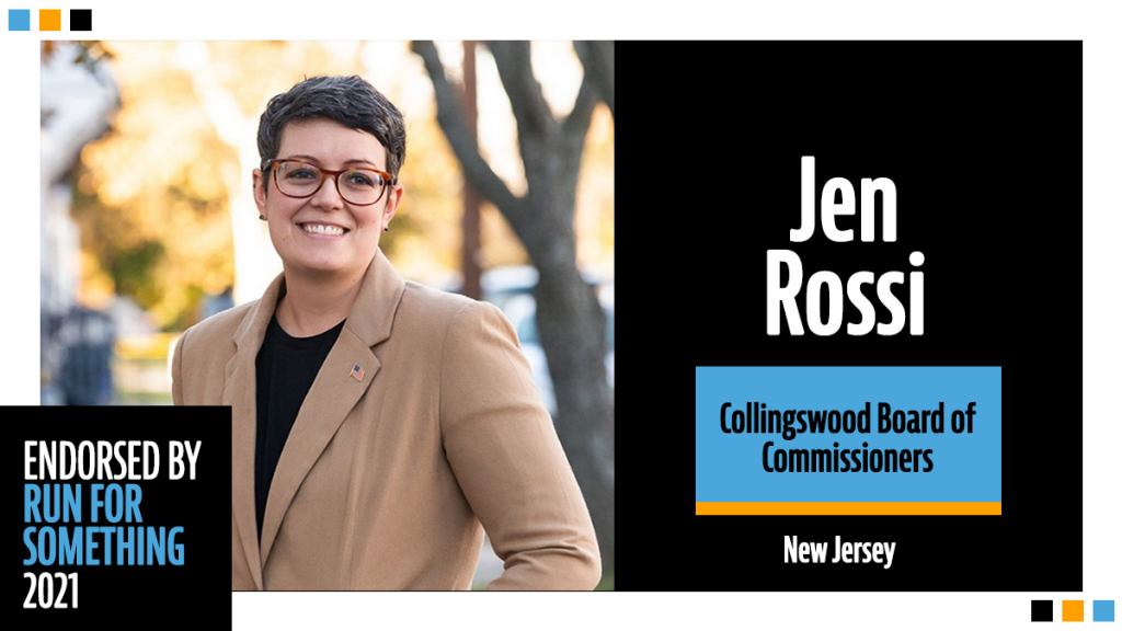 Jen Rossi Collingswood Board of Commissioners New Jersey Endorsed By Run For Something